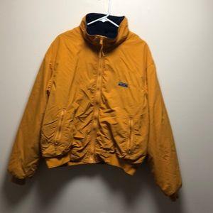Vintage XL Eddie Bauer Mustard Zip Up Jacket